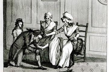 История  подологического лечения